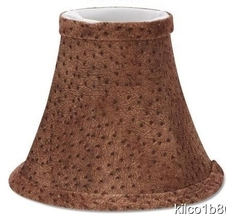 Animal Print Chandelier Lamp Shade - $13.00