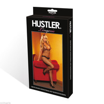 Hustler Lingerie Industrial Net Crotchless Bodystocking with Interlaced ... - $19.99