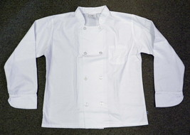Quality LAB0191 Small Double Breasted White Uniform Chef Coat Jacket Uni... - $19.57