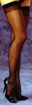 Fantasy Lingerie Sheer Stockings : Black : Quee... - $8.99