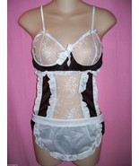 Fantasy Lingerie The Other Woman French Maid Bodycover Costume Set: One ... - $26.99