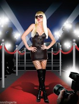 Dreamgirl Lingerie Pop A Razzi Gloss Microfiber Dress Costume - $39.99