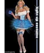 Dreamgirl Lingerie Heidi Blue Light Costume Set - $46.99