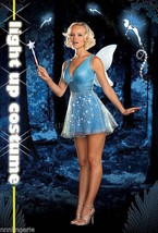 Dreamgirl Lingerie True Blue Fairy Costume Set - $44.99
