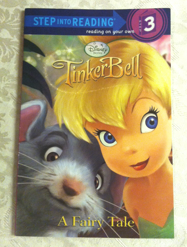 Disney Fairies Tinkerbell Step Into Reading children's book Step 3