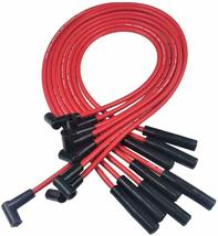 BBC CHEVY 396 454 SUPER HEI Distributor + RED 8mm SPARK PLUG WIRES STRAIGHT BOOT image 5