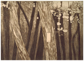 TRAIL MARKER--3 original etching by Norulak s/n... - $39.99