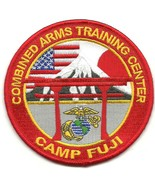 United States Marine Corps Combined Arms Training Center Camp FUJI Patch  - $9.99