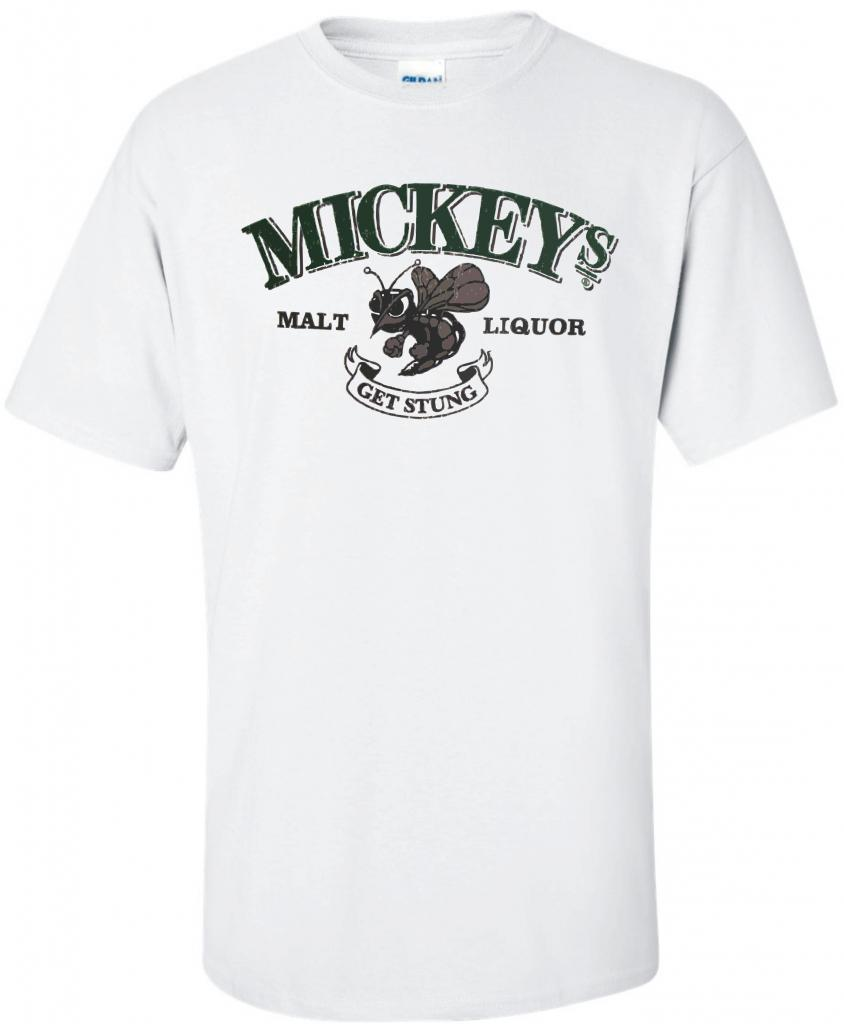 Mickey's Malt Liquor Bee Beer T Shirt U Pick Size Color S M L XL 2XL 3XL 4XL 5XL