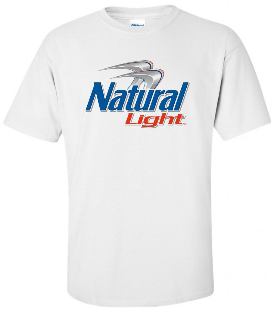 Natural Light Beer Natty Light II T Shirt  S M L XL 2XL 3XL 4XL 5XL
