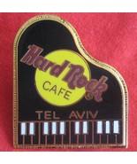 Tel aviv CLOSED Hard Rock Cafe fender PIANO Pin RARE BLACK KEYS  - £15.66 GBP