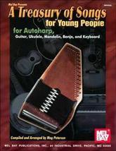 A Treasury of Songs For Young People/Autoharp/Banjo/Uke/Mandolin/Songbook - $5.99