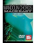 Mandolin Chords Made Easy/DVD/Joe Carr  - $9.00