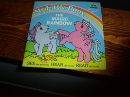 My Little Pony G1 merchandise The Magic Rainbow book and record - $35.00