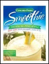 Concord Foods Tropical Pineapple Smoothie Mix, ... - $24.99
