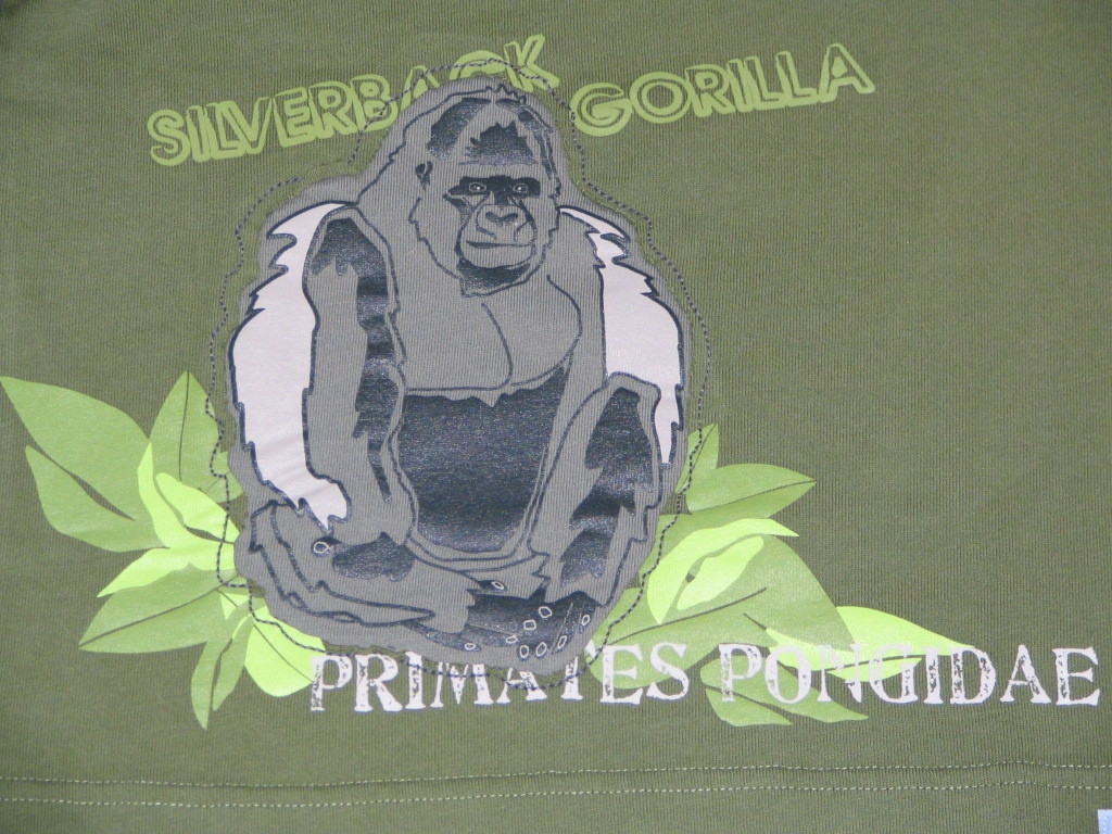 NWT Gymboree Gorilla Jungle Preserve Top T Shirt Sz 4