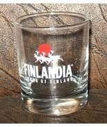 ISRAEL 180 cc  NEW  FINLANDIA VODKA ON THE ROCK DRINK GLASSES - $4.99