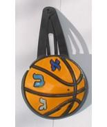 JUDAICA - BASKETBALL ALPHABET KIPPAH CLIPS FOR CHILDREN - $2.99