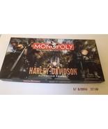 Harley Davidson Monopoly Game New in Box - $59.99
