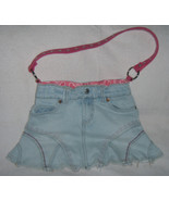 Girls Recycled Levi Skirt Purse - $15.00