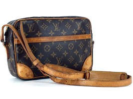 Authentic LOUIS VUITTON Trocadero 25 Shoulder Bag Monogram Canvas Purse 874 TH - $246.51
