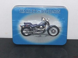 Harley Davidson Tin with 2 Decks of Playing Cards - brand new - $12.99