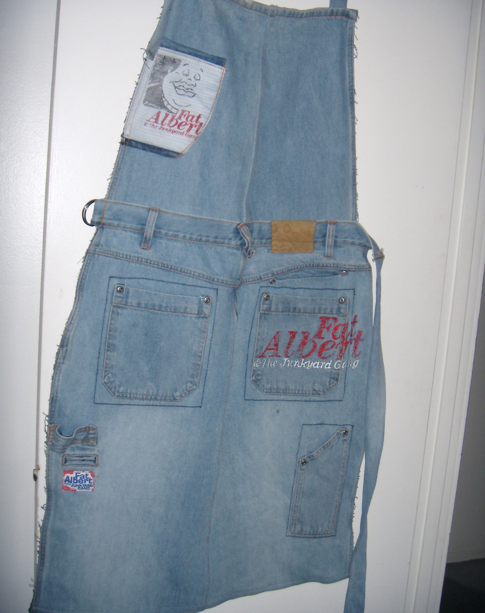 Men's Barbecue Fat Albert Jean Apron