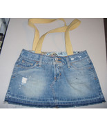 Recycled Jean Beach Type Bag - $10.00