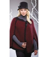 W122 Crochet PATTERN ONLY Modern Chanel Cape Pattern - $7.45