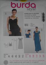 Dress Bustier Top Size 18-26 Burda 7099 Sewing Pattern - $10.39