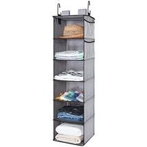 StorageWorks Hanging Closet Organizer, 6 Shelf Closet Organizer, 2 Ways ... - $38.59