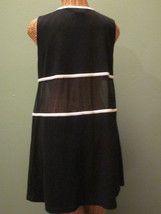 Anne Klein Size Small Black & White Dress - $25.00