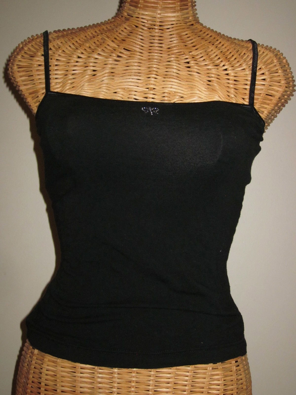 Two Cami tops size small in black - $19.99