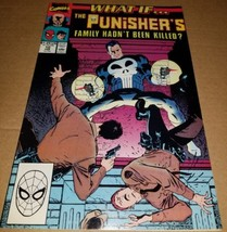 1 Marvel Comic What If Punisher 10 NM- Family Hadn't been Killed App boo... - $0.99