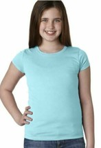 Marky G Apparel Youth Girls' Princess T-Shirt, Cancun Blue, Size Small image 2