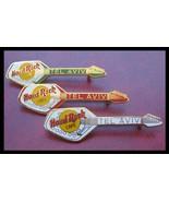 3 PIN set Tel aviv Fantasy / Renegade Hard Rock Cafe vox organ guitar - £23.49 GBP
