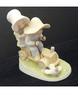 Homco Figurine Wild Ride Home Interiors Circle of Friends Soapbox Racer  - $7.95
