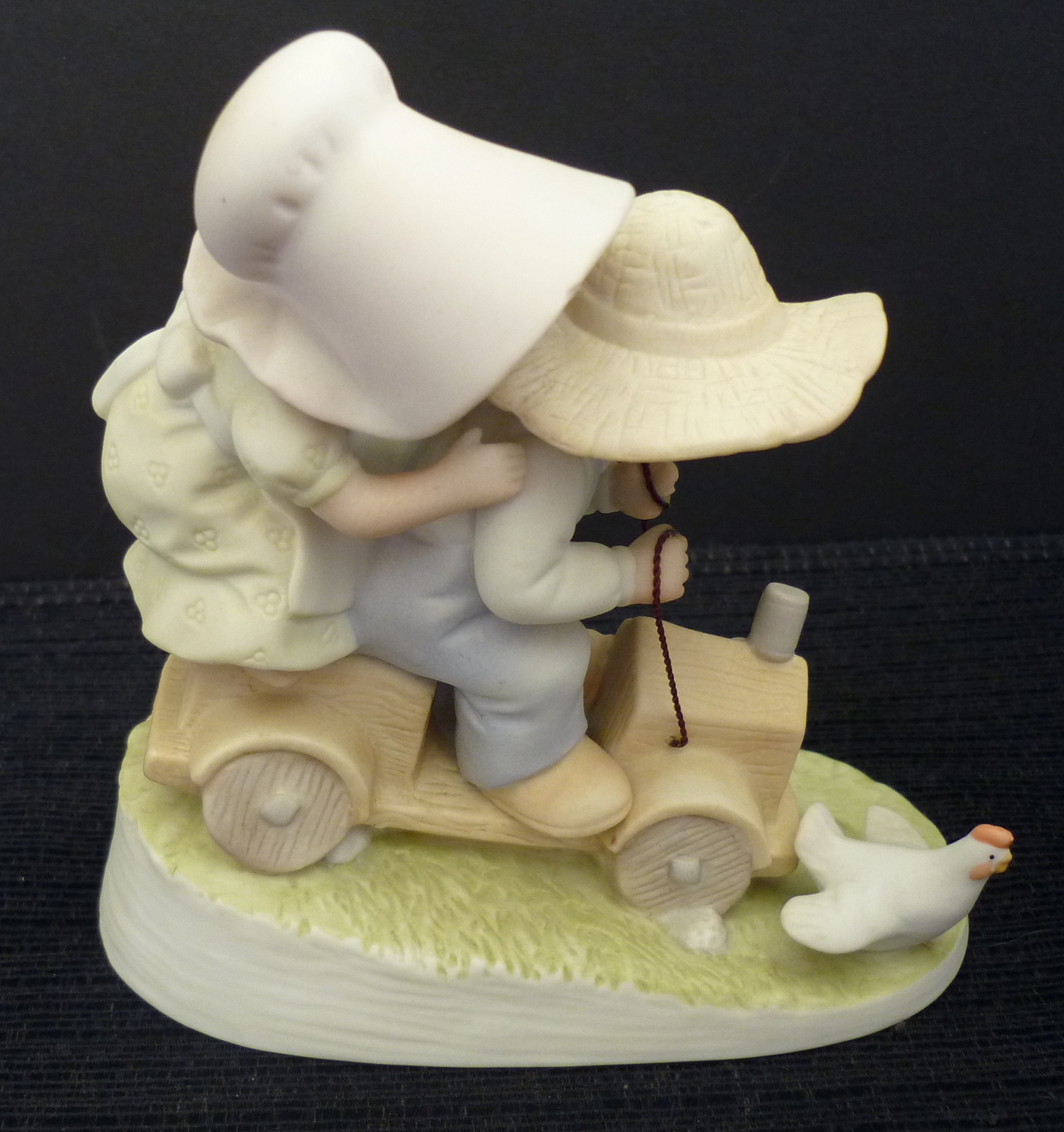 Homco Figurine Wild Ride Home Interiors Circle Of Friends