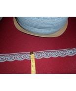 "1"" scalloped flat country blue lace (10 yards) .25 a YARD - $2.50"