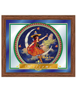 Miller High Life Beer Vintage Retro Girl in the... - $74.99