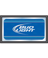 Bud Light Beer Deluxe Style Classic Logo Mirror... - $74.99