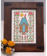 Thistle Sampler cross stitch chart Tiny Modernist Inc - $9.00