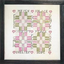 Comfort cross stitch chart The Workbasket - $10.35