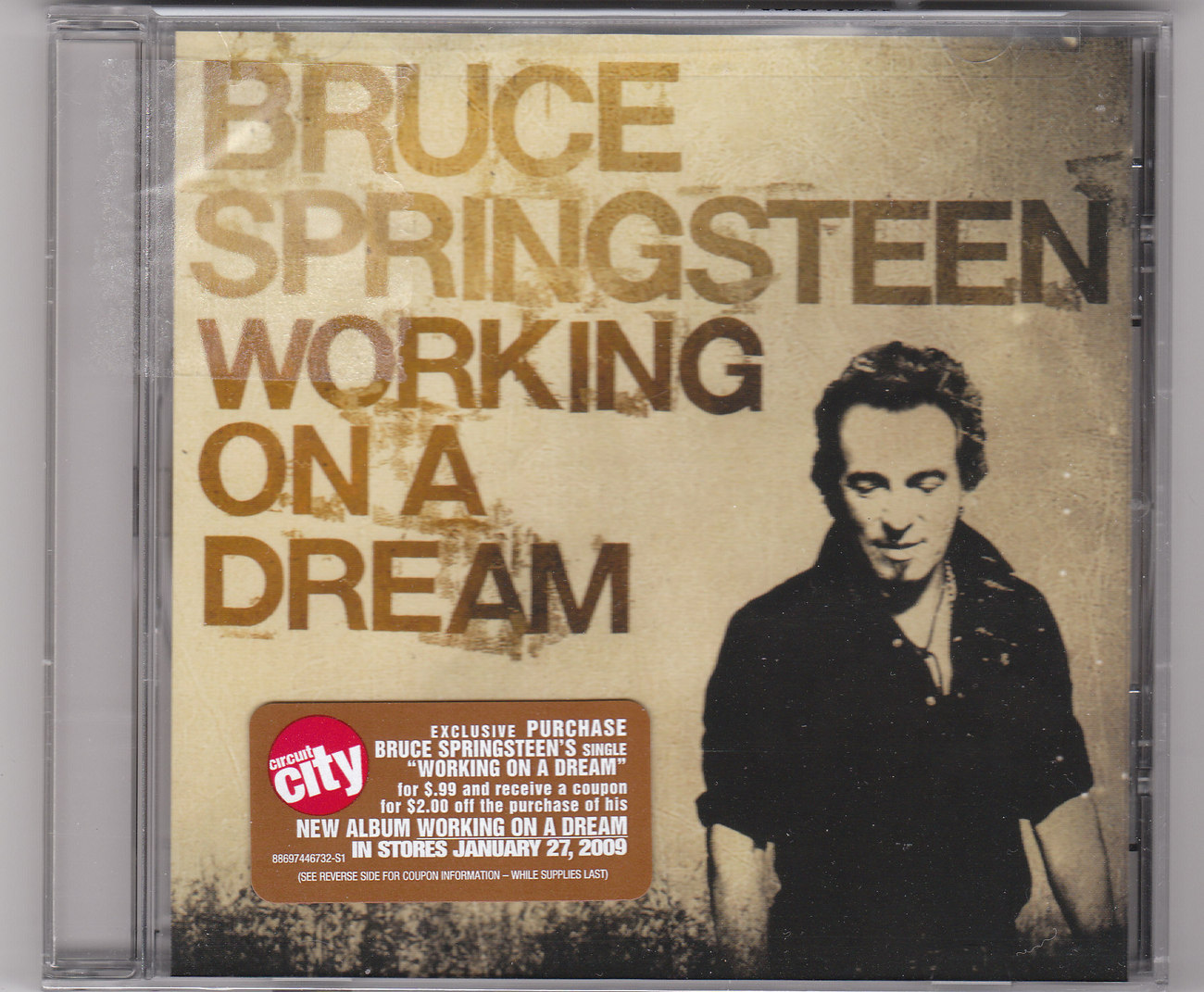 Bruce Springsteen-new Working On A Dream CD Single