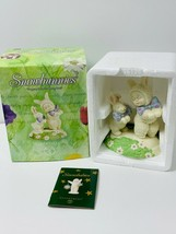 """Snowbunnies  Department 56  """" Hopping Down The Bunny Trail """"  Figurine  ... - $19.99"""