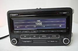 2010-2011 VW VOLKSWAGEN GOLF RADIO CD PLAYER 1K0035164D N TESTED C35#007 - $109.49