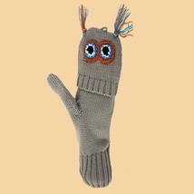 Flip Mittens Owl - Unisex One Size Fits Most - Mittens to Fingerless Gloves - $187,80 MXN