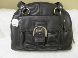 TOP OF THE LINE LEATHER COACH BAG (NEW). GET A FREE GIFT!! - $200.00