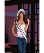 "Dreamgirl ""Bridalicious"" Veil, Light Up Sash & Thong Bridal Accessory Gi... - $24.99"