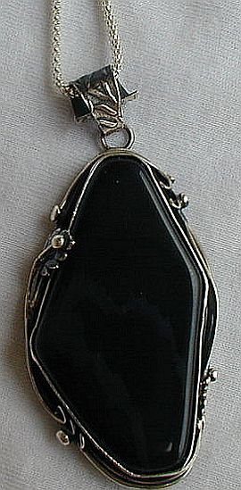 Beautiful onyx pendant a
